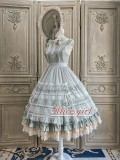 Alice Girl -The Camellia- Classic Lolita Jumper Skirt Dress