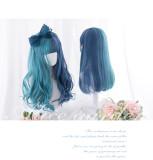 Alice Garden - Blue and Green Splite Lolita Wig
