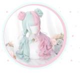 Alice Garden - 57cm Long Curly Wavy Colorful Lolita Wig