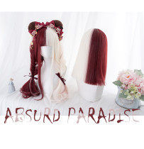Alice Garden - Wine and White Splite Lolita Wig