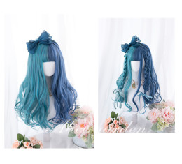 Alice Garden - Blue and Green Splite Lolita Wig