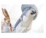Alice Garden - Blue and White Splite Lolita Wig