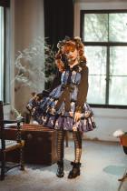 Litte Deer and Pinenut Sweet Casual Lolita JSK