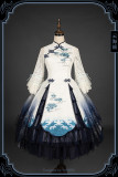 The Rumour of Sea Qi Lolita OP and Hat