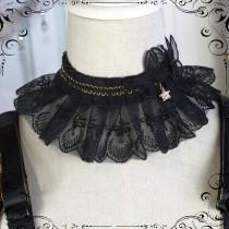 Fate Quartet Sweet Gothic Lolita Cape and Necklace