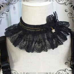 Fate Quartet Sweet Gothic Lolita Cape and Necklace