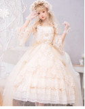 Dance with Moon Classic Princess Tea Party Lolita OP