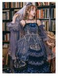 Yinluofu -Dead Butterfly Allegretto- Gothic Lolita JSK