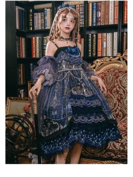 Yinluofu -Dead Butterfly Allegretto- Lolita Accessory Set