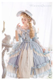 HinanaQueena -Platinum Banquet- Vintage Classic Princess Lolita One Piece Dress