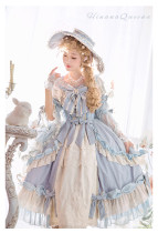 HinanaQueena -Platinum Banquet- Vintage Classic Princess Lolita One Piece Dress
