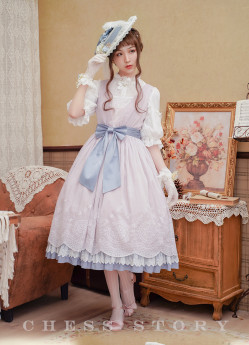 Chess Story -Gifts from Budapest- Classic Casual Lolita JSK
