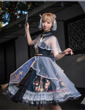 Uwowo -Cloud and Mist Makeup- Qi Lolita Accessories
