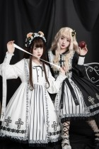 Literary - Gothic Lolita One Piece Dress