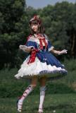 Milu Forest -Princess Snow Crowned in the Forest- Sweet Off Shoulder Lolita OP Dress