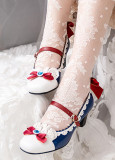Milu Forest -Princess Snow Crowned in the Forest- Lolita Heel Shoes