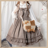 Cat Cookies Lolita Shoulder Crossbody Handbag