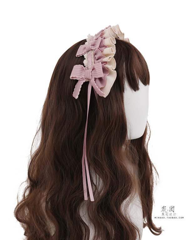 Candy House Lolita Apron and Headdress