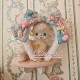 Alice girl -Cat Tea Party- Lolita Headdress and Cat Tail