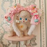 Alice girl -Cat Tea Party- Lolita Headdress and Cat Tail