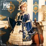 Cat Highness -Phoenix and Peony- Lolita OP Dress