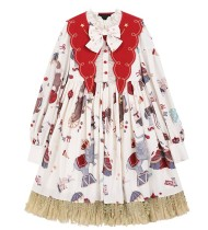 Summer Fairy -Retro Circus- Lolita OP Dress