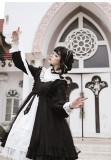 CastleToo -The God Come in the World- Normal Waist Gothic Lolita OP Dress
