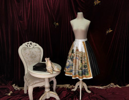 Yolanda -The Crown- Lolita Skirt