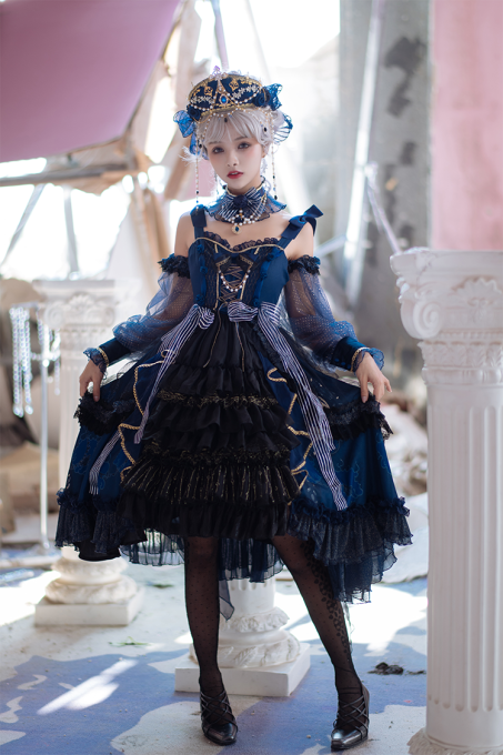 Marry Pudding -Graceful Melody- Gothic Lolita JSK