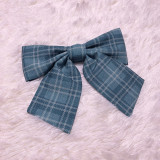 Cat Can -Duck in Rainy Day- Lolita Bow Hairclip