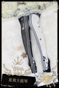 Yidhra -Cellointhe Stars- Overknee Lolita Stocking for Spring