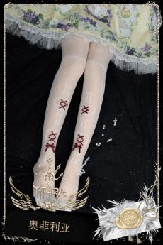 Yidhra -Ophelia- Overknee Lolita Stocking for Summer