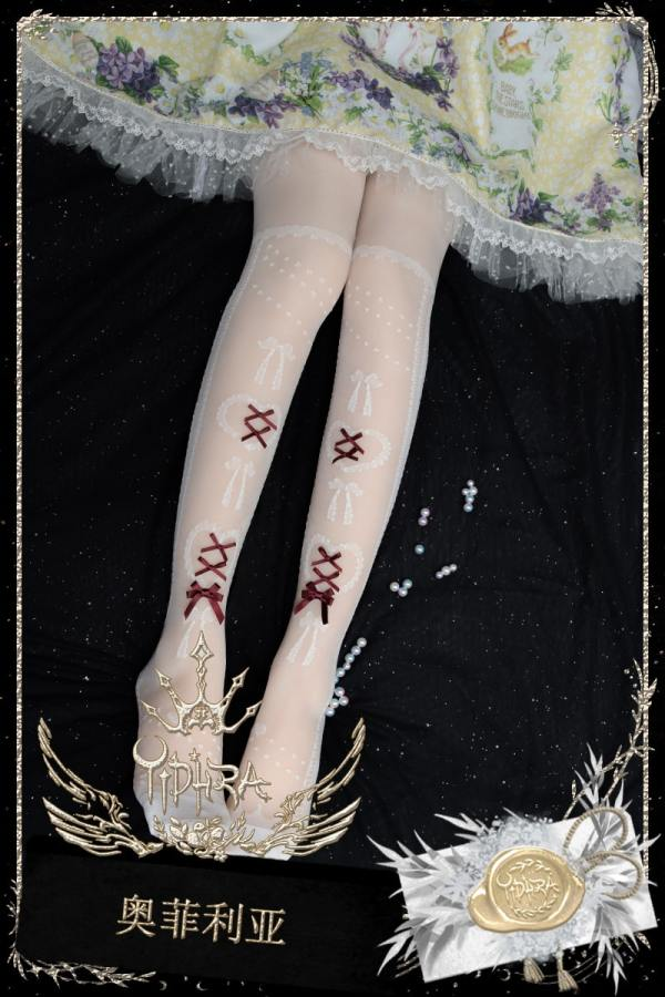 Yidhra -Ophelia- Overknee Lolita Stocking for Summer