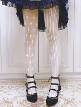 Ruby Rabbit -The Clown- Lolita Tights for Spring and Summer
