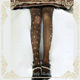 Ruby Rabbit -The Clown- Printed Lolita Tights for Spring and Autumn