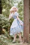 Unideer -Lost Alice- Sweet Casual A Shape Lolita OP Dress