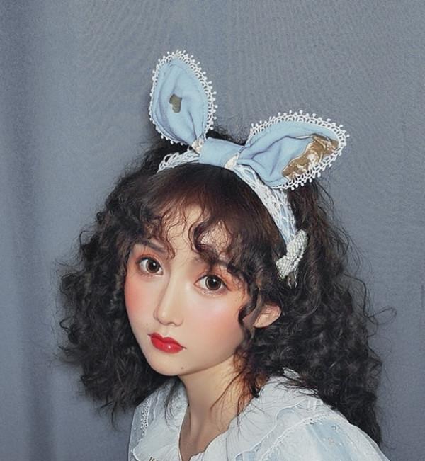 Unideer -Lost Alice- Lolita Headdress and Apron