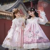 Angels Heart -Reinterpretations of Wonderland- Qi Lolita JSK and OP