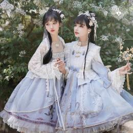 Angels Heart -Reinterpretations of Wonderland- Qi Lolita JSK and OP