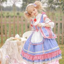 Sweety Honey -Daisy's Diary of Autumn Outings- Sweet Lolita JSK