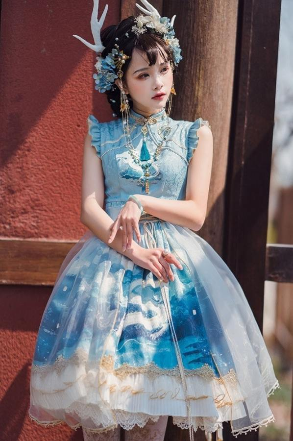 Sika Lolita -The Dragon King- Qi Lolita JSK