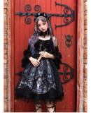 Yinluofu -Dead Butterfly Allegretto- Gothic Lolita Full Set