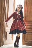 Cyan Lolita -Wordless Poetry- Lolita Short Jacket