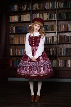 Neverland -Chocolate Bears- Sweet Lolita JSK