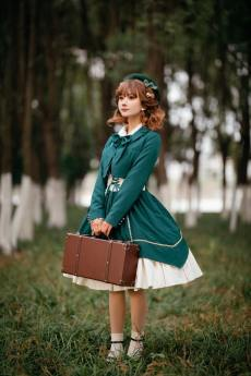 Cyan Lolita -Wordless Poetry- Lolita Short Jacket