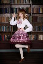 Neverland -Chocolate Bears- Sweet Lolita Skirt