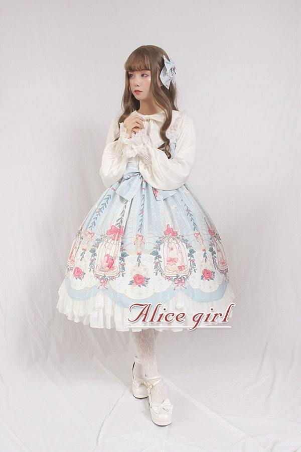 Alice Girl -Rabbit in the Cage- Sweet Lolita JSK