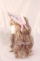 Alice Girl -Rabbit in the Cage- Lolita Hairclip and Bonnet