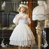 NyaNya -Sleeping Flower- Casual Normal Waist Lolita JSK