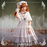 NyaNya -Sleeping Flower- Casual High Waist Lolita JSK